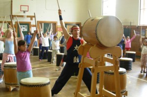 Japanese Taiko Drumming Workshop @ Claremont Savings Bank Community Center