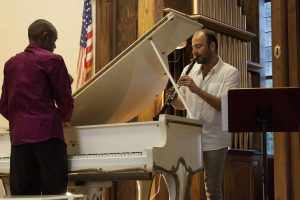 The Art of the Duo Kinan Azmeh, clarinet, Dinuk Wijeratne, piano @ Union Episcopal Church | Claremont | NH | US