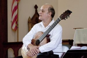 From Bach to Lezcano: music for guitar, viola, and flute @ Union Episcopal Church | Claremont | NH | US