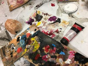 Arts Mixer - 3rd Saturdays Open Studio @ Union Episcopal Church | Claremont | NH | US