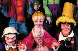 Claremont HopStop: Tanglewood Marionettes @ Claremont Savings Bank Community Center