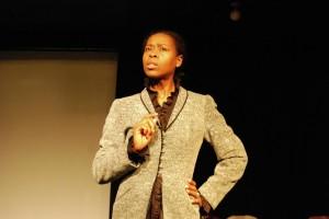 Trena Bolden Fields as Frances Ellen Watkins Harper