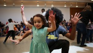 HopStop Family Show: Kids' Dance Party @ Claremont Savings Bank Community Center