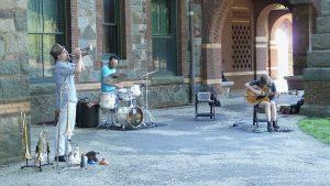 Fujiwara/Halvorson/Bynum Trio: improv and imagination @ Union Church
